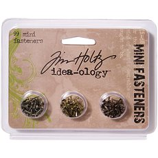 Набор металлических брадс Tim Holtz Idea-Ology Metal Screw-Top Paper Fasteners