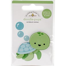 Стикер Doodlebug Doodle-Pops 3D Stickers Tiny Turtle