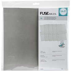 Прозрачные файлы We R FUSEables Fuse Clear Sheets 12x12""