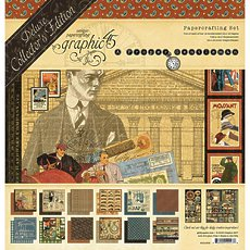 Набор A Proper Gentleman Deluxe Collector's Edition от Graphic 45