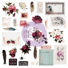 Набор высечек Midnight Garden Ephemera Cardstock Die-Cuts 29/Pkg