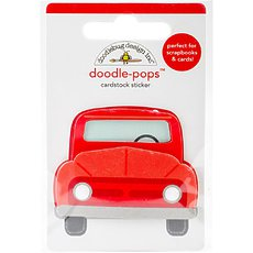 Стикер Doodlebug Doodle-Pops 3D Stickers Old Red