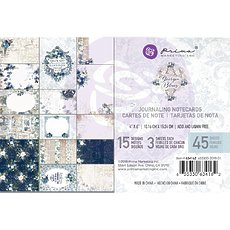 "Набор карточек для журналинга Georgia Blues Journaling Cards Pad 4""X6"" 45/Pkg Prima Marketing"