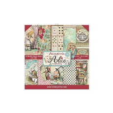 "Набор бумаги Alice Stamperia Double-Sided Paper Pad 12""X12"" 10/Pkg"