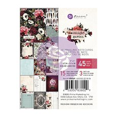 "Набор карточек для журналинга Midnight Garden Journaling Cards 3""X4"" 45/Pk Prima Marketing"