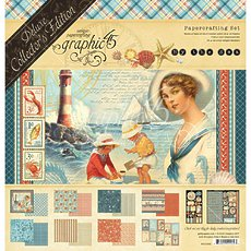Набор By The Sea Graphic 45 Deluxe Collector's Edition Pack