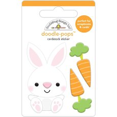 Стикер Doodlebug Doodle-Pops 3D Stickers Baby Bunny