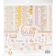 "Кит-набор Echo Park Collection Kit Hello Baby Girl 12""X12"""