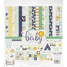 "Кит-набор Echo Park Collection Kit Hello Baby Boy 12""X12"""