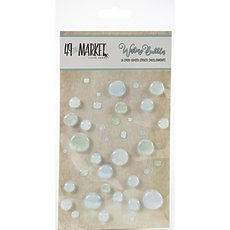 Дотсы 49 And Market Minty Breeze Epoxy Coated Wishing Bubbles 38/Pkg