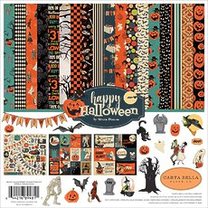 "Кит-набор Happy Halloween Carta Bella Collection Kit 12""X12"""