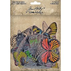 Ацетатные крылья Tim Holtz - Advantus Idea-Ology Transparent Acetate Wings 72/Pkg
