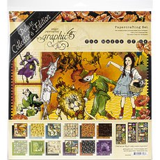 Набор Magic Of Oz Graphic 45 Deluxe Collector's Edition Pack