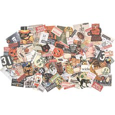 Набор высечек Snippets Tiny Die-Cuts/Halloween Idea-Ology Ephemera Pack 124/Pkg
