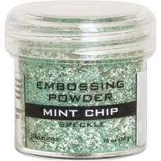 Пудра для эмбоссинга Ranger Embossing Powder Specle Mint Chip