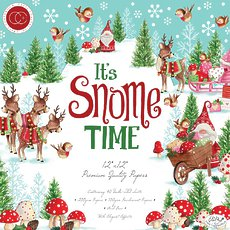 "Набор бумаги It's Snome Time Craft Consortium Double-Sided Paper Pad 12""X12"" 40/Pkg"