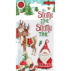 Набор штампов It's Snome Time Craft Consortium A5 Clear Stamps