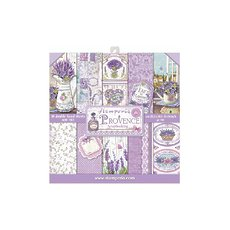 "Набор бумаги Stamperia Provence Double-Sided Paper Pad 8""X8"" 10/Pkg"