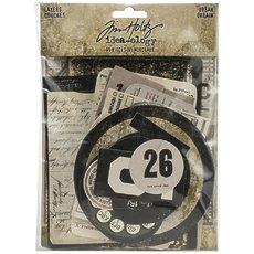 Набор высечек Urban Tim Holtz Idea-Ology Layers 65/Pkg