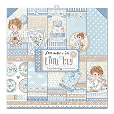 "Набор бумаги Little Boy Stamperia Double-Sided Paper Pad 12""X12"" 10/Pkg"