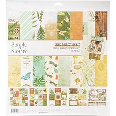 "Кит-набор Simple Vintage Great Escape Simple Stories Simple Stories Collection Kit 12""X12"""