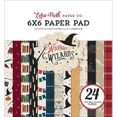 "Набор бумаги Witches & Wizards Echo Park Double-Sided Paper Pad 6""X6"" 24/Pkg"