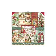 "Набор бумаги Classic Christmas Stamperia Double-Sided Paper Pad 8""X8"" 10/Pkg"