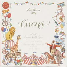 "Набор бумаги Circus Craft Consortium Double-Sided Paper Pad 12""X12"" (1/2 часть)"