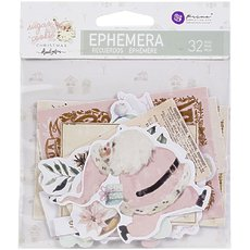 Набор высечек Shapes, Tags, Words, Foiled Accents Sugar Cookie By Frank Garcia Cardstock Ephemera 32/Pkg