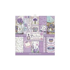 """Набор бумаги Provence Stamperia Double-Sided Paper Pad 12""""X12"""" 10/Pkg"""