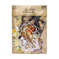 Набор высечек от Tim Holtz Idea-Ology Layers Die-Cuts Botanical