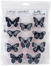 Набор штампов Flutter Stampers Anonymous Tim Holtz