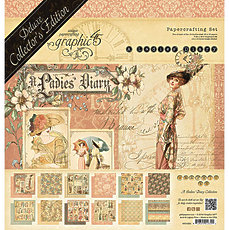 Набор Ladies Diary - Deluxe Collector's Edition от Graphic 45