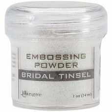 Пудра для эмбоссинга Bridal Tinsel Ranger Embossing Powder
