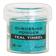 Пудра для эмбоссинга Ranger Embossing Powder Teal Tinsel