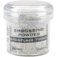 Пудра для эмбоссинга Snowflake Tinsel Ranger Embossing Powder