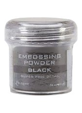 Пудра для эмбоссинга Super Fine Black Ranger Embossing Powder
