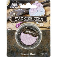 Восковая паста Sweet Rose Finnabair Art Alchemy Metallique Wax .68 Fluid Ounce