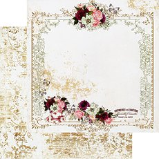 Лист Tea & Roses из коллекции Pretty Mosaic Prima Marketing 30*30 см