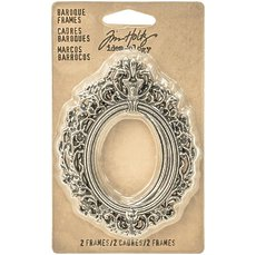 Набор рамочек Tim Holtz Idea-ology Baroque frames